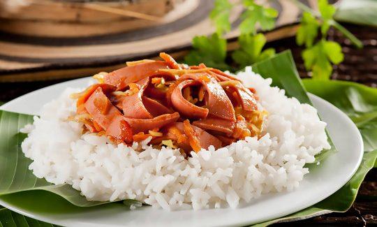 Corona de arroz