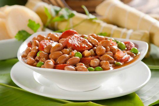 Cunit - frijoles con chorizo