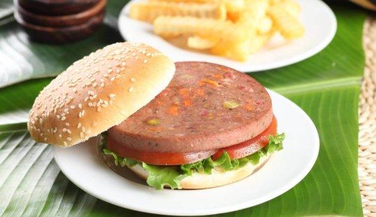 Hamburguesa con rollo de carne Cunit