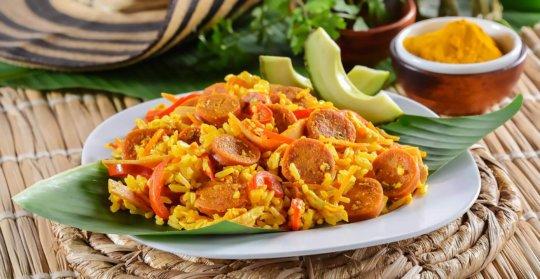 Receta arroz trifasico con chorizo
