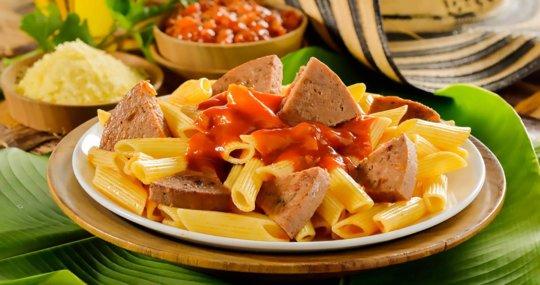 Rollo de carne con pasta Cunit