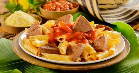 Cunit - Rollo de carne con pasta