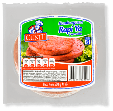 Carne para hamburguesa Cunit
