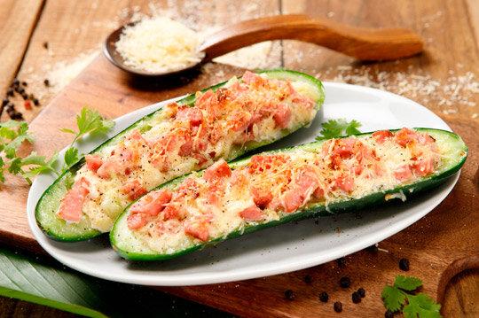 Barcas de Zucchini